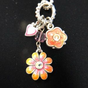 Brighton Cotes de Azure Flower Necklace